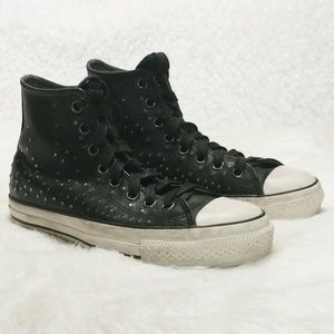 Converse + John Varvatos Mini Stud High Tops